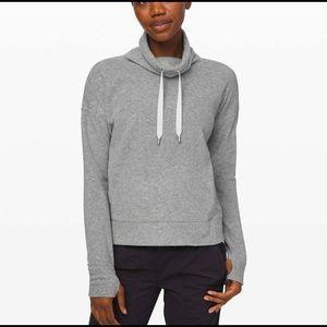 Lululemon go forward pullover fleece sz xs new
